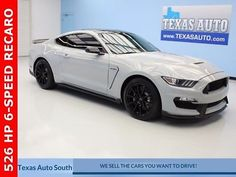 eBay: 2016 Ford Mustang Shelby 2016 Ford Mustang Shelby 6,072 Miles Avalanche Gray 2D Coupe 5.2L Ti-VCT V8 Trem #fordmustang #ford