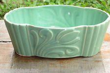 Vintage McCOY pottery: Brush McCoy USA 402 Vase Bowl Planter ART DECO