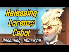 Fallout Setting Lorenzo Cabot free and becoming 'Immortal'. Secret of Cabot House Quest Best Fallout 4 Mods, Fallout 4 Secrets, Ps4, Playstation, Fallout Facts, Marvel Avengers Movies, Fall Out 4, Video Game Memes, Good To See You