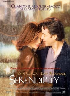 Serendipity~ all time favorite and my favorite word!!!