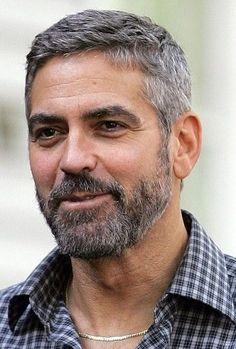 2017 Avrupanın erkek saç modelleri - George Clooney