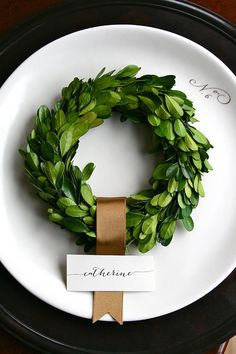 """Preserved Boxwood Wreath, 6"""", Small Boxwood Wreath, Boxwood Wreath 