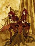 The Conjoined Twins by *AbigailLarson on deviantART