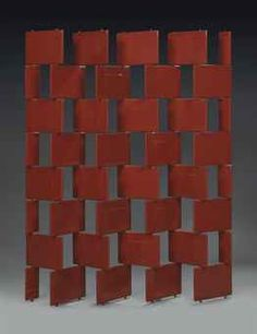 A 'BRICK' SCREEN DESIGNED 1922-23, EXECUTED 1973 EILEEN GRAY (1879-1976)