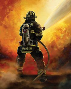 Order personalized firefighter artwork online from Fireart. Our customized artwork will honor your firefighter on any occasion. Firefighter Paramedic, Wildland Firefighter, Firefighter Quotes, Volunteer Firefighter, Firefighter Family, Firefighter Drawing, Firefighter Photography, Firefighter Pictures, Fire Tattoo