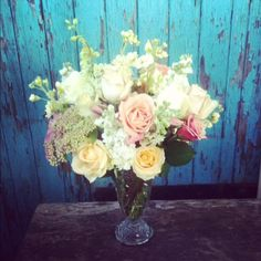 Great for a bouquet if a little less white and a hint of blue / lilac for depth.