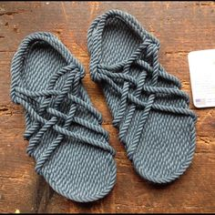0d6a3656933d Blue Denim GURKEE Rope Sandals Size 9 Never worn Neptune GURKEE Rope sandals.  l X across smoke free. JC sandals blue is like a jean blue color.