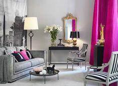 Interior design for the fashionista - Home Interiors for the Fashionista Blush Living Room, My Living Room, Living Room Decor, Living Spaces, Style At Home, Deco Rose, Decoration Inspiration, Dream Decor, New Room