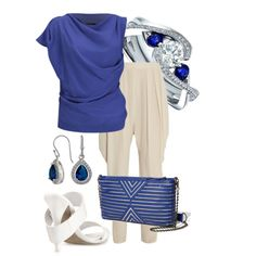 """Blue"" by ivanyi-krisztina on Polyvore"