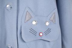 Cat Coat pale blue | vivetta