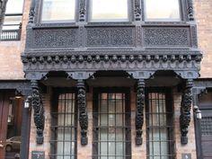 bay  window, greenwich village ny, ny