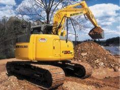 New Holland Construção - Escavadeiras Hidráulicas E130SR - Sua eficiência de trabalho vai crescer com a nova escavadeira hidráulica New Holland E130SR. Com tecnologia de ponta, esta máquina maximiza a produtividade com potência, confiabilidade e facilidade de operação excepcionais