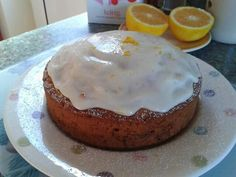 Orange and carrot cake :)
