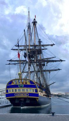 Hermione, Sailboat Art, Sailboats, San Francisco Pictures, Hms Hood, Ocean At Night, Old Sailing Ships, Tug Boats, Navy Ships