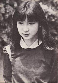 young Sayoko Yamaguchi