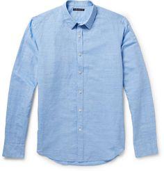 TheoryZack Linen and Cotton-Blend Shirt - £160