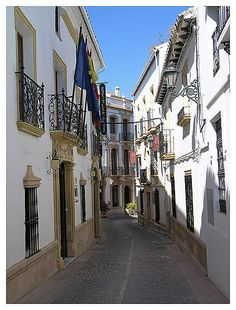 Ronda - street view from the old city