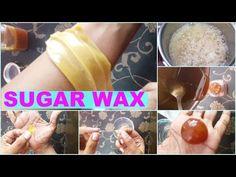 How To Make Sugar Wax At Home | Natural Hair Removal At Home | Sugar Wax Live Demonstration - YouTube