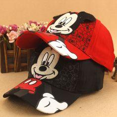 660af0a067f New lovely Baseball Cap Kids Baby Boys Girls Adjustable Caps Fashion Cartoon  Mickey Minnie Children Snapback Hat bone masculino