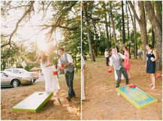 Kristi and Josh's Colourful Laid Back Wedding all under $5,000. By Jon Stars