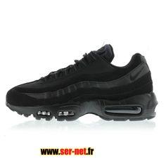 c616520b7b94 Nike Air Max 95 Chaussures de Basketball Nike Pas Cher Pour Homme Noir