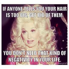 The bigger the hair, the closer to God, right? #refinery29 http://www.refinery29.com/online-beauty-memes#slide-9