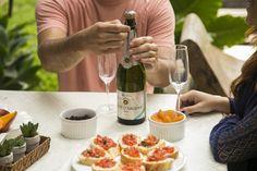 Um espumante com um paladar leve, com boa acidez e notas frutadas. #brinde #espumante #vinho