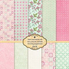 Dollhouse scrapbook paper - Yahoo Image Search Results