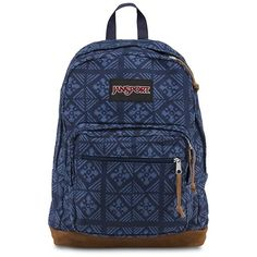 Jansport Right Pack World Backpack ($64) ❤ liked on Polyvore