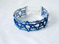 Lace Bracelet, Bracelets, Bobbin Lace, Turquoise Bracelet, Boho Fashion, Gypsy, Chic, Jewelry, Food