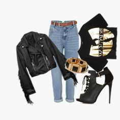 What do you think about this look for a GNO? Check more outfits at www.wishi.me to get ideas for your upcoming events!