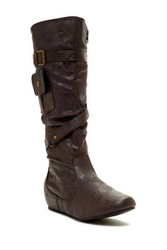 Tall Pocket Boot