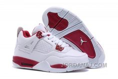 hot sales adf69 5d008 Buy Kids Air Jordan 4 IV Alternate 89 White Gym Red For Sale Xmas Deals  2016 from Reliable Kids Air Jordan 4 IV Alternate 89 White Gym Red For Sale  Xmas ...
