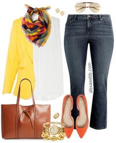 Plus Size Casual Friday Outfits - Plus Size Casual Work Outfits - Plus Size Fashion for Women - alexawebb.com #alexawebb