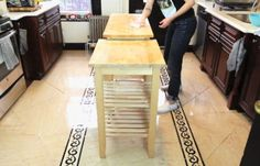 Clean Out Your Piece | How to Make Kitchen Island Storage | DIY Projects
