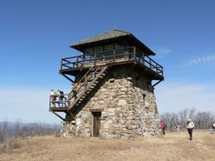 High Knob fire tower   Great Eastern Trail