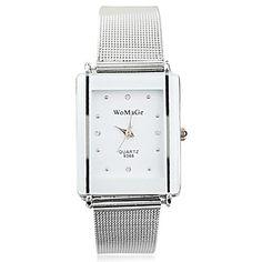 Women's Fashion Square Belt Rhinestones Guartz Wrist Watch(Assorted Colors) 2079892 2016 – $13.89