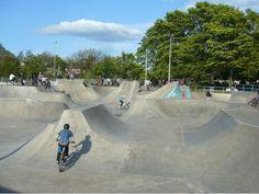 Construction begins on new £200k Drylaw Skatepark in Edinburgh | STV Edinburgh | Edinburgh