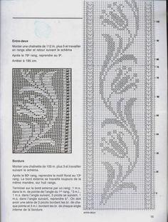 Free Patterns Archives - Beautiful Crochet Patterns and Knitting Patterns Filet Crochet Charts, Crochet Borders, Crochet Cross, Knitting Charts, Crochet Motif, Knitting Stitches, Crochet Designs, Knitting Designs, Crochet Doilies
