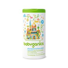 Baby-safe, plant-based all-purpose wipes. Cleans all surfaces with a natural and nonabrasive formula. No harmful chemicals, artificial fragrances, or dyes.