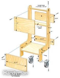 Building plan for compressor cart