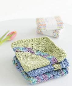 Water Lily Washcloth | crochet today