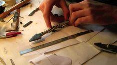 Fabrication d'une mini-guitare : Epiphone Korina Flying V