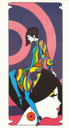 Memories of Mod Fashion image vintage fashion ad creative commons read at 1960s Mod Fashion, Vintage Fashion, Psychedelic Art, Psychedelic Fashion, Estilo Mod, Pop Art, Mundo Hippie, Casa Pop, Poster Art