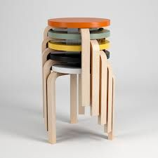 Alvar Aalto STOOL 60 Model available on Turbo Squid, the world's leading provider of digital models for visualization, films, television, and games. Classic Furniture, Modern Furniture, Furniture Design, Scandinavian Furniture, Scandinavian Design, Nordic Design, Kitchen Stools, Kitchen Dining, Folding Furniture