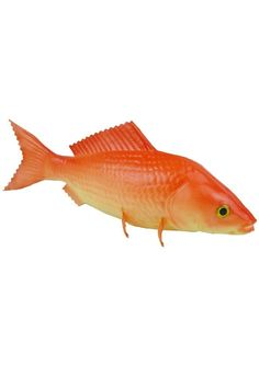 Pack of 2 Orange Artificial Common Carp Lifelike and Realtouch PU Fish for Fish Tank or the Aquarium Restaurant Hotel Display ** Want to know more, click on the image.