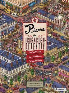 Buch und Spiel in einem: Pierre, der Irrgarten-Detektiv