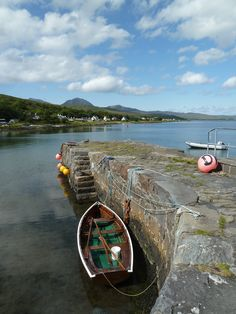 Boat and Pier Craighouse, Jura - Summer 2014