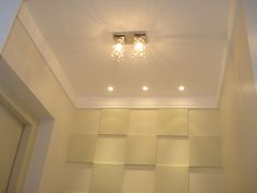 Iluminação em teto de gesso