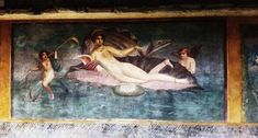 Erotic Pompeii Vettii House Italy - Punishment of Ixion